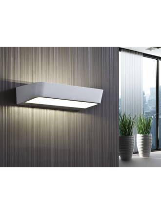 Aplique de pared Megan LED 12w metal blanco de Schuller