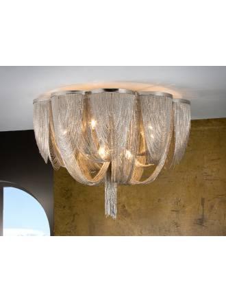 Plafon de techo Minerva 10 luces de Schuller