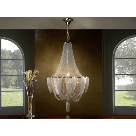 SCHULLER Minerva pendant lamp 12 lights
