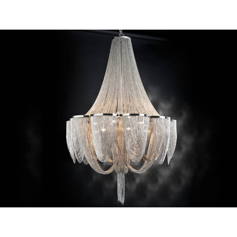 Lampara colgante Minerva 15 luces de Schuller
