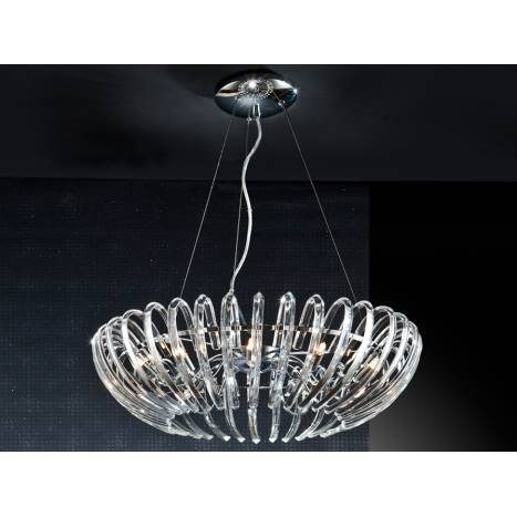 Schuller Ariadna pendant lamp 12 lights cristal
