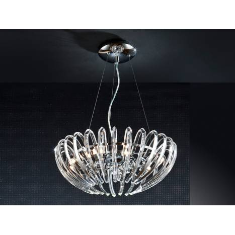 Schuller Ariadna pendant lamp 9 lights cristal