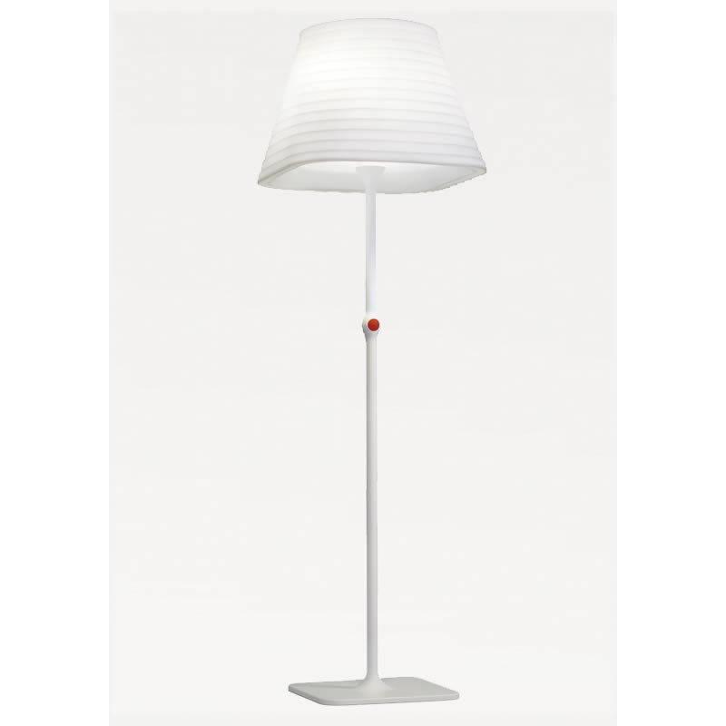 Lampara de pie brigit 4 luces en polietileno blanco arkoslight - Lamparas de polietileno ...