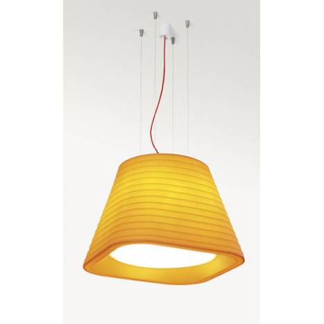 ARKOSLIGHT Brigit pendant lamp orange polyethylene