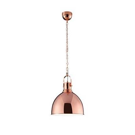 Lampara colgante 3005 1 luz metal cobre de Trio