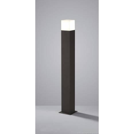 Lampara de pie Hudson LED 80cm gris pizarra