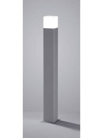 TRIO Hudson outdoor bollard LED 80cm grey