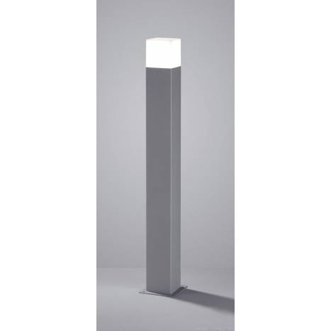 TRIO Hudson outdoor bollard LED 80cm grey