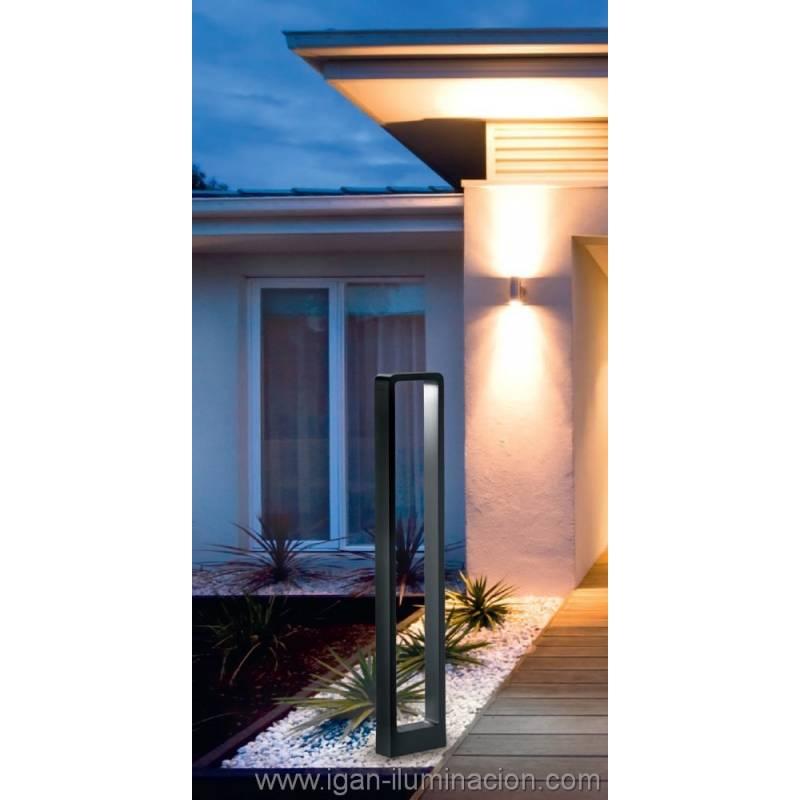 Trio reno outdoor bollard led 5w anthracite for Outdoor design reno