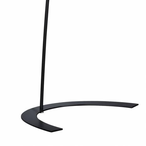 Lampara de pie Shangai LED 18w metal negro de Trio