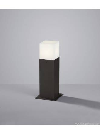 Trio Hudson outdoor bollard LED 30cm anthracite