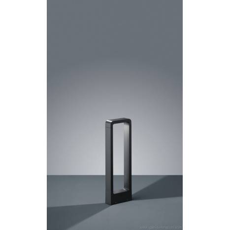 Trio Reno outdoor bollard LED 50cm anthracite