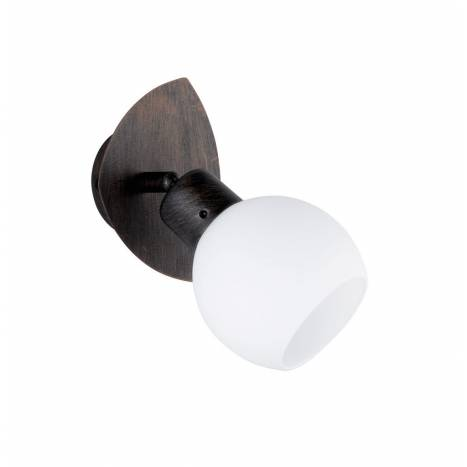 TRIO Ballu spotlight 1L LED oxide and glass