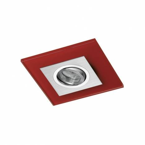 CRISTALRECORD Class recessed light red glass