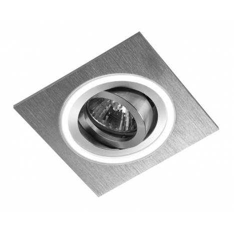 CRISTALRECORD Aret 1 square recessed light LED white
