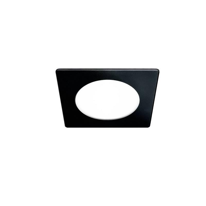 CRISTALRECORD Novo Lux square downlight LED 6w black