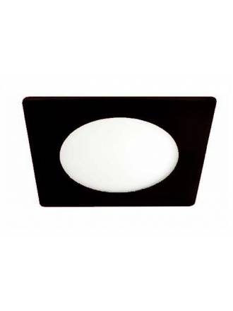 CRISTALRECORD Novo Lux square downlight LED 20w black