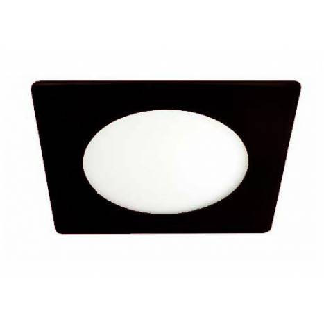 CRISTALRECORD Novo Lux square downlight LED 20w black
