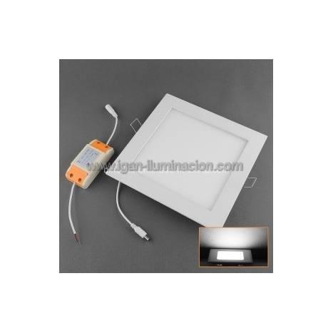 CRISTALRECORD square downlight LED 20w white