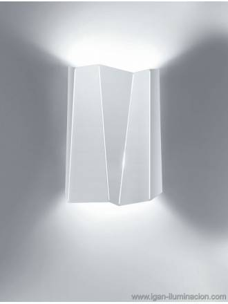 BRILLIANCE Future tall wall lamp 2L metal colors