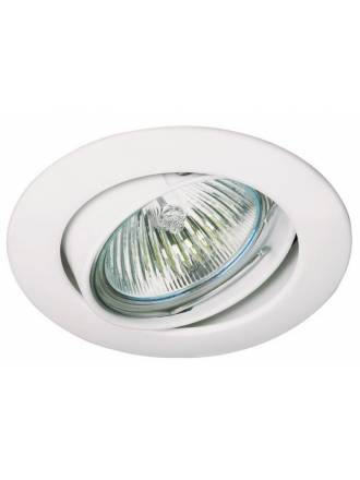 MASLIGHTING 202 round recessed light white