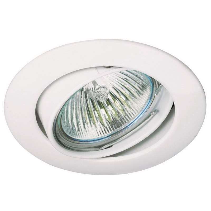 Foco empotrable 202 gu10 circular blanco - Foco led empotrable ...