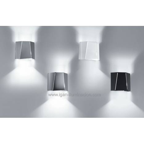 BRILLIANCE Future wall lamp 1L metal colors