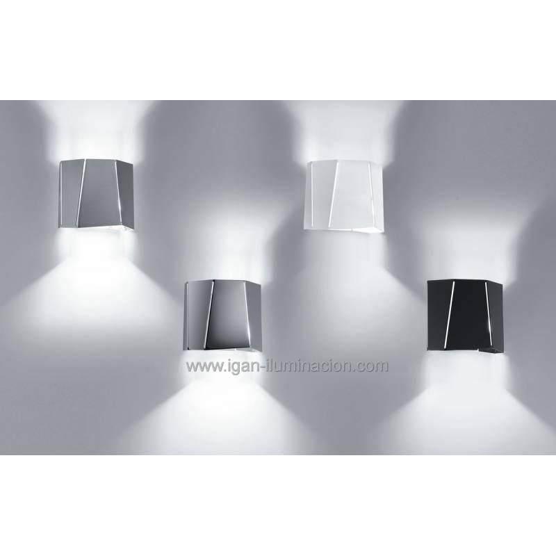 BRILLIANCE Future wall lamp 1L metal colors