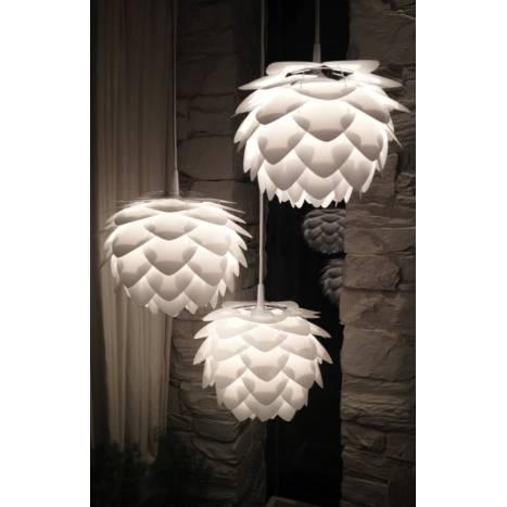 VITA Silvia pendant lamp 45cm white