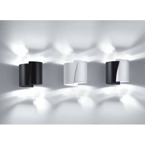Aplique de pared Future 1 luz metal colores