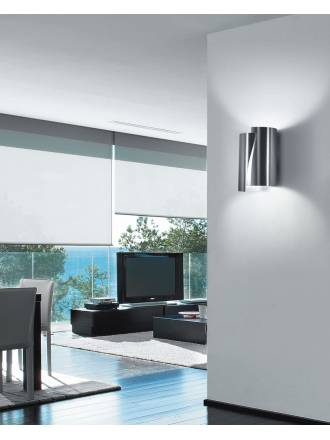 Aplique de pared Future 2 luces tall metal colores