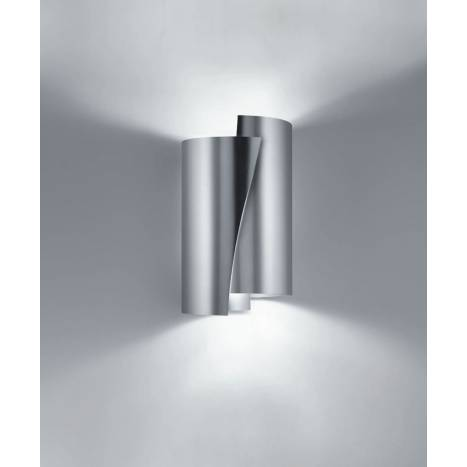 BRILLIANCE Future tall wall lamp 2L round metal colors