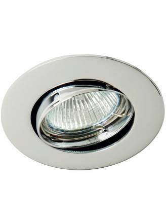 MASLIGHTING 202 round recessed light chrome