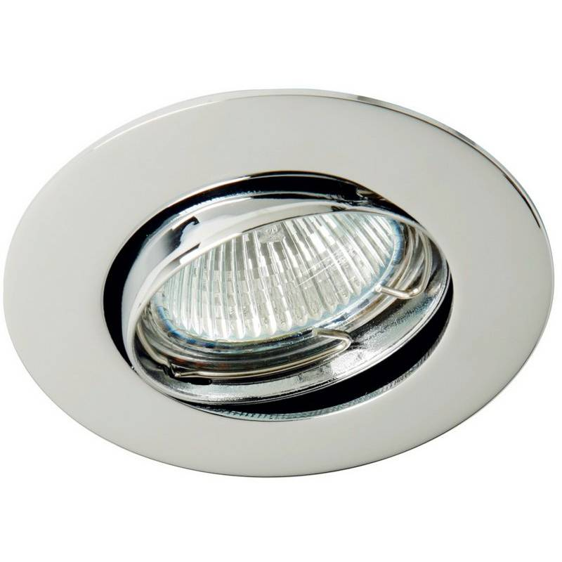 MASLIGHTING 202 round recessed light chrome