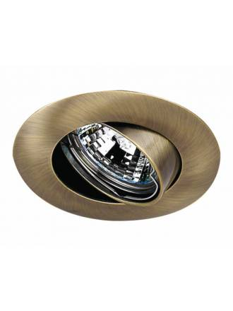 MASLIGHTING 202 round recessed light bronze