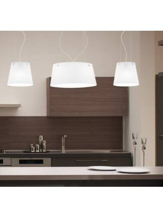 VISTOSI Aliki P pendant lamp glass