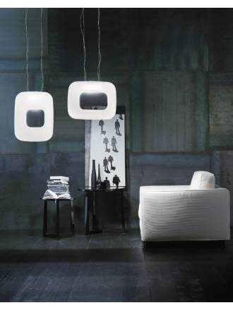 VISTOSI Dos pendant lamp white glass