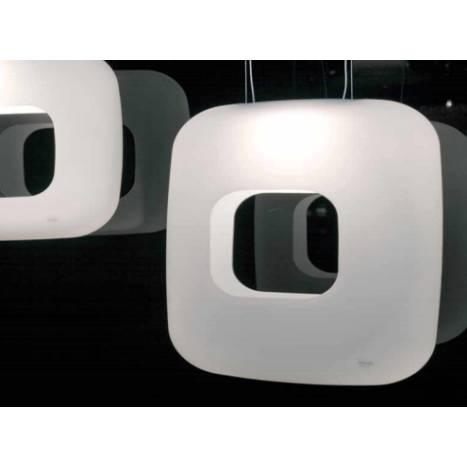 VISTOSI Dos pendant lamp white glass