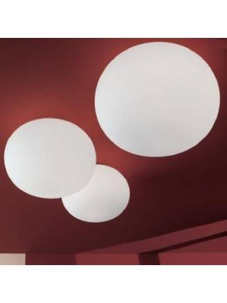 VISTOSI Lucciola ceiling lamp blown glass