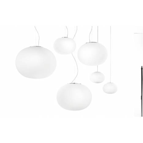 VISTOSI Lucciola pendant lamp blown glass