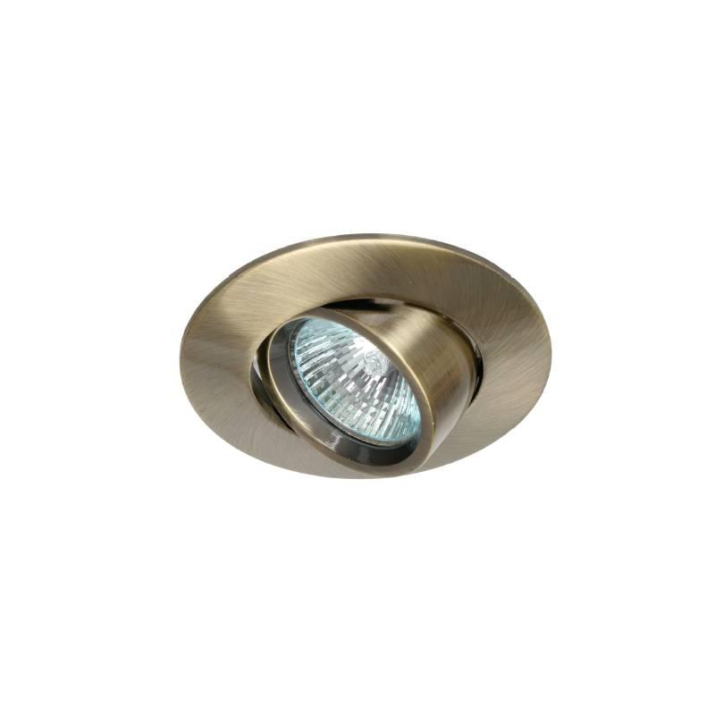 MASLIGHTING 203 round recessed light bronze