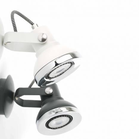 FARO Ring surface spotlight 1L grey