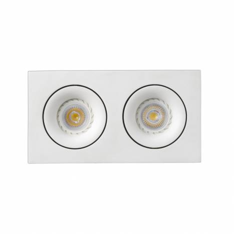 Foco empotrable Argón 2 luces de Faro