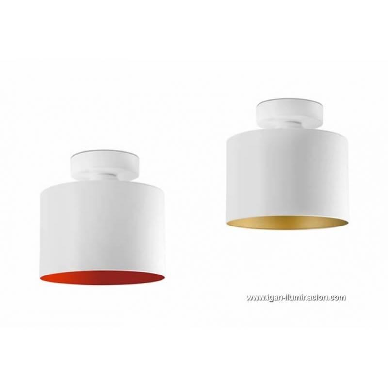 Faro janet ceiling lamp 1l white