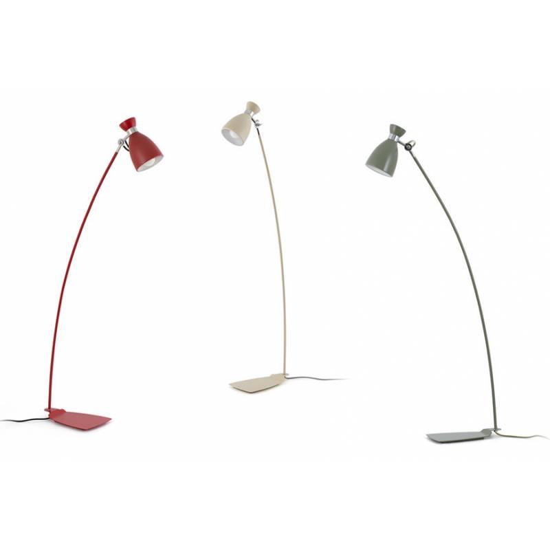 L mpara de pie retro 1 luz vintage design faro - Lampara de pie vintage ...