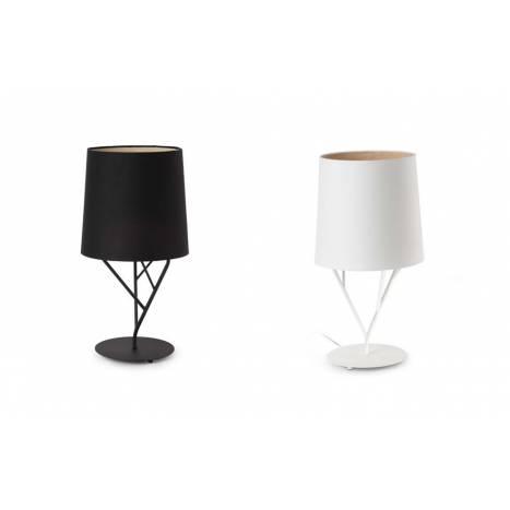 FARO Tree table lamp 1L steel and fabric
