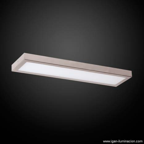 IRVALAMP Planium ceiling lamp LED 43w steel