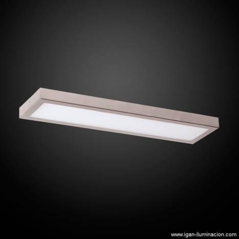 Plafon de techo Planium LED 43w en acero inox