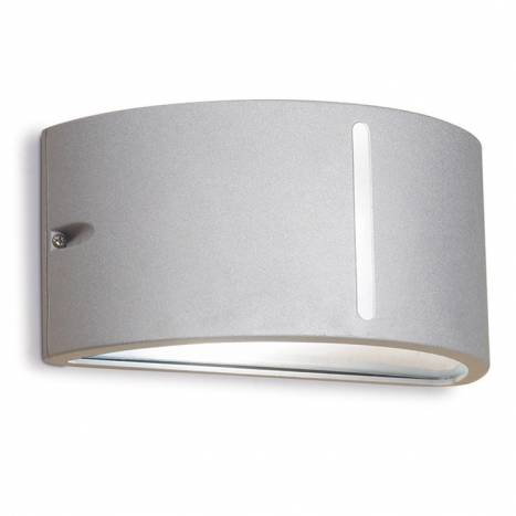Aplique de pared Atena gris de Leds C4