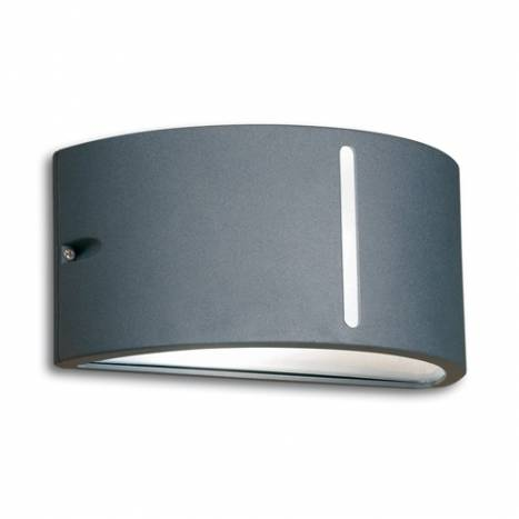 LEDS-C4 Atena outdoor wall lamp anthracite